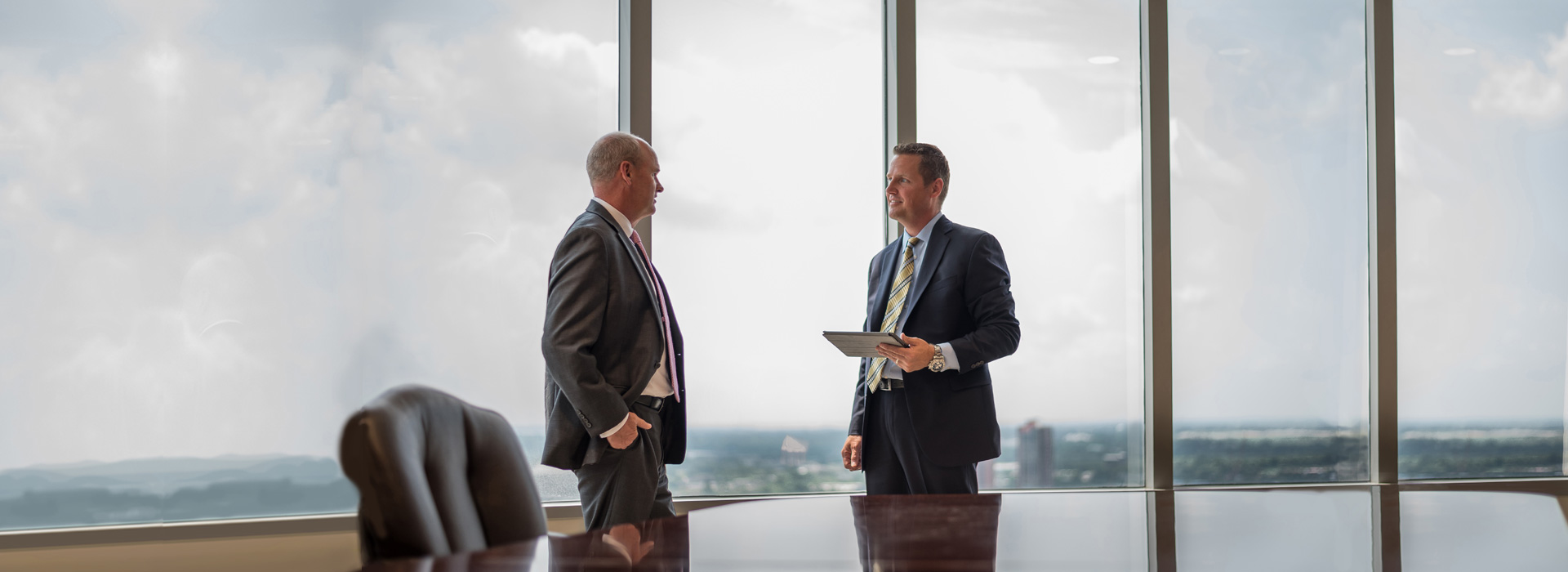 Two Santora execs converse about the value of client service, a proactive approach and superior technical knowledge
