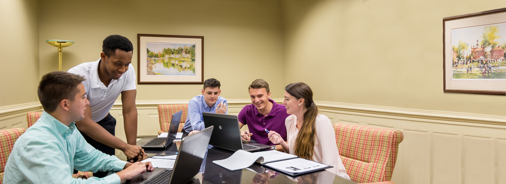 College Interns reviews their mentoring experiences with tax and financial engagements