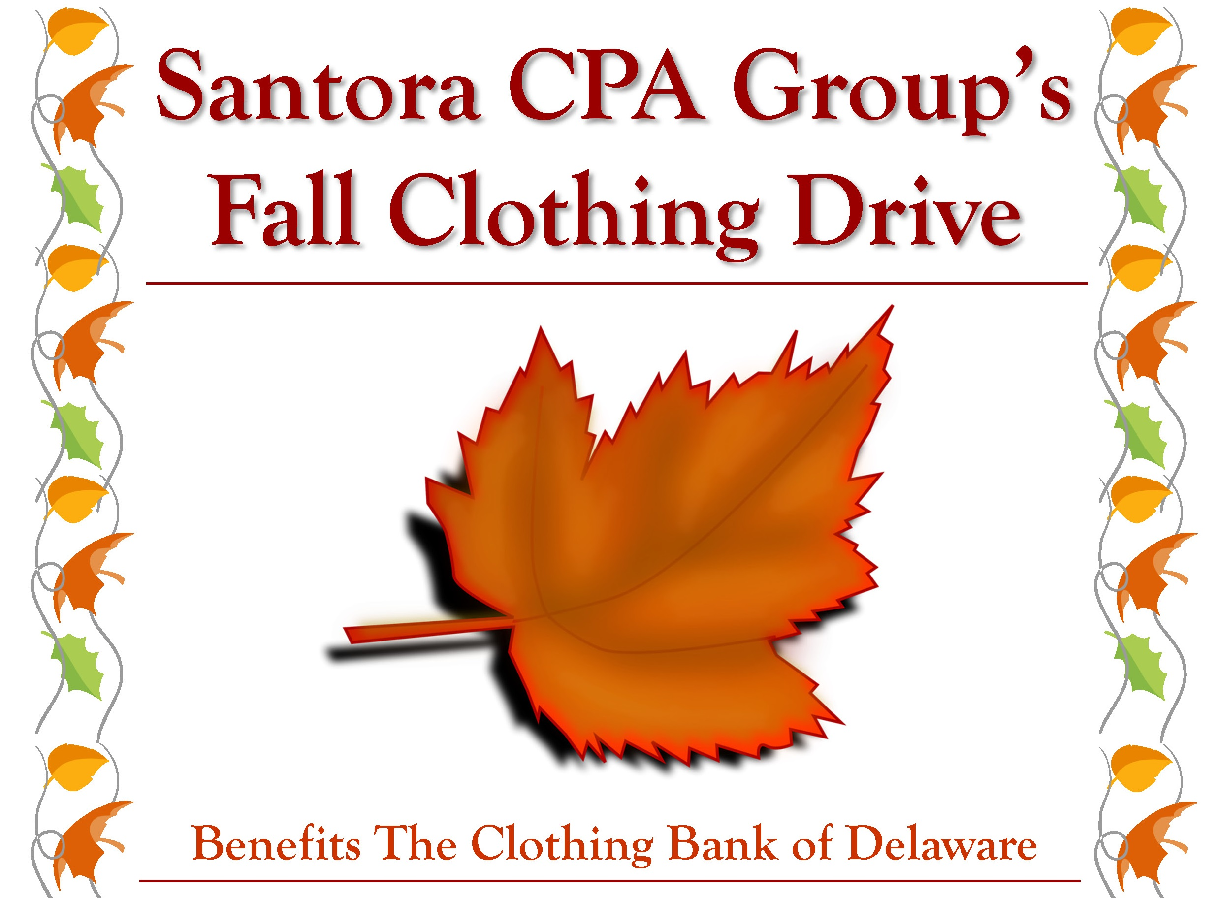 Our Annual Clothing Drive