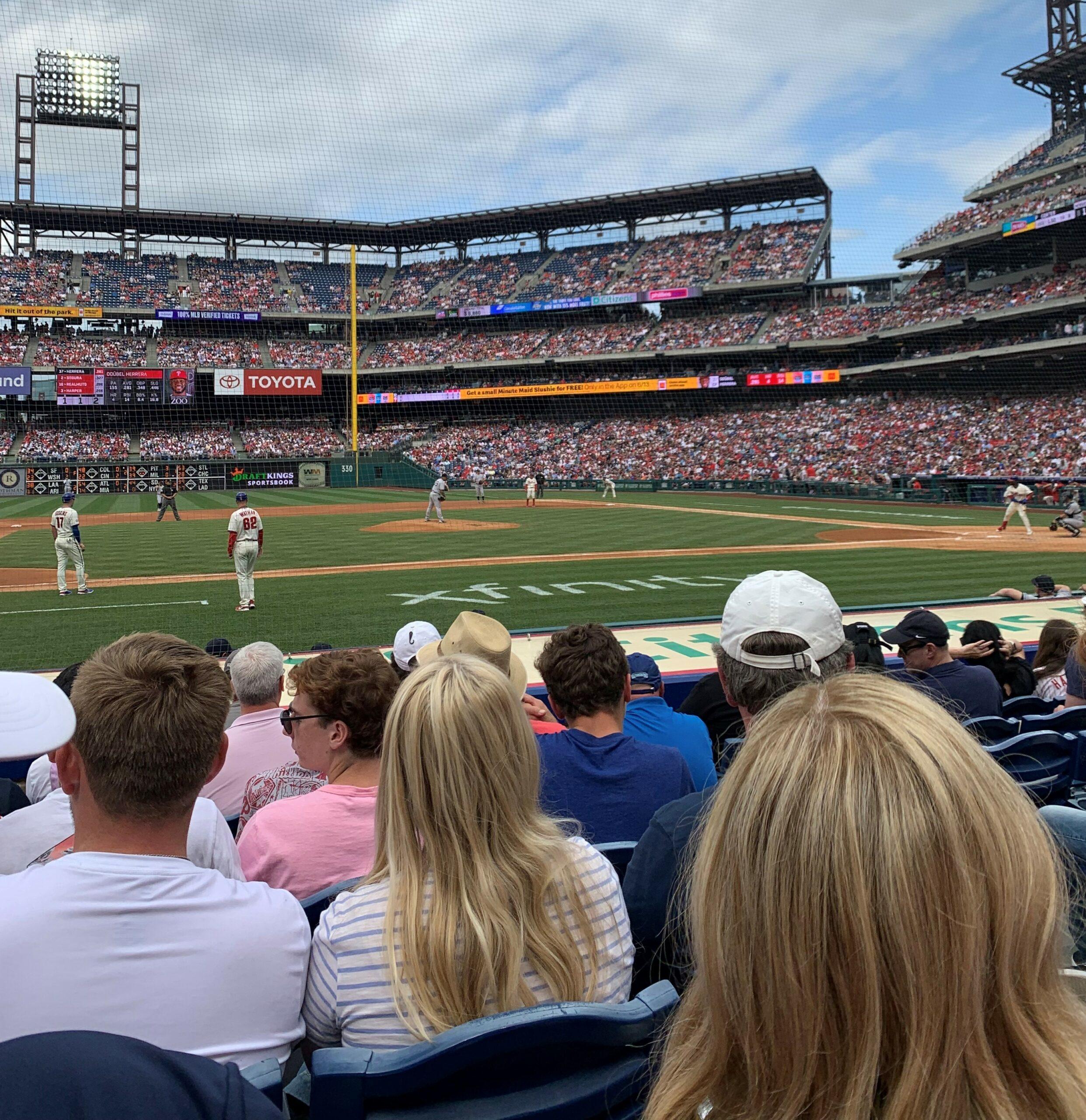 Saturday's Company-Provided Phillies Tickets
