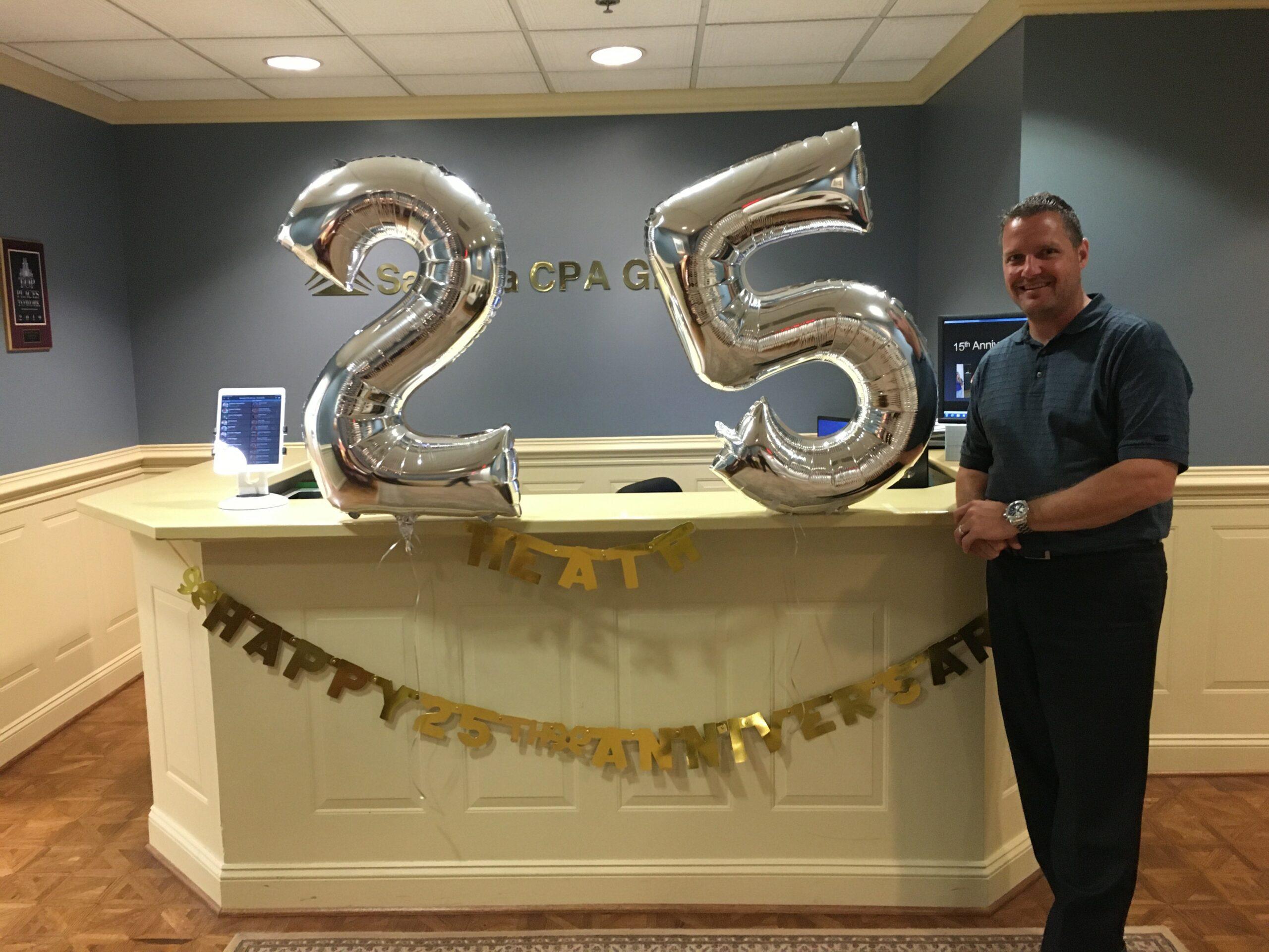 Celebrating Heath's 25th Anniversary
