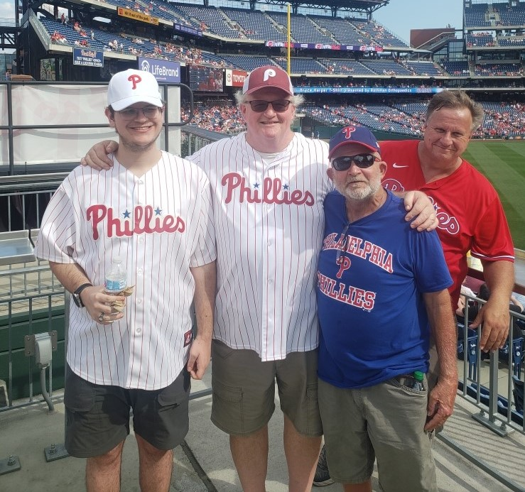 Company-Provided Phillies Tickets on August 14th