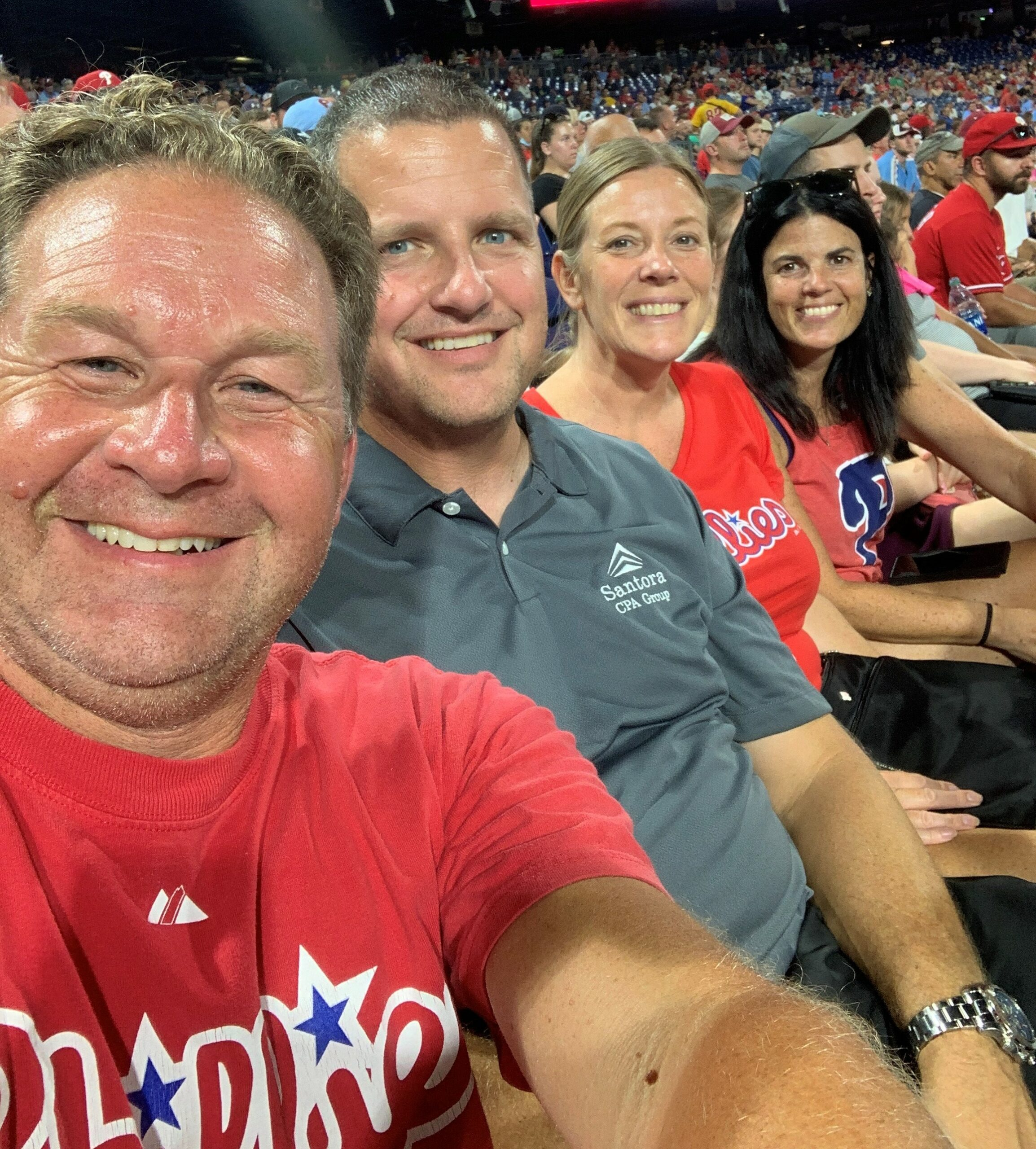 Company-Provided Phillies Tickets on August 25th