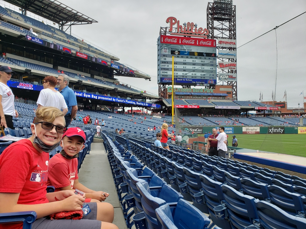 Company-Provided Phillies Tickets on August 29th
